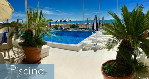Hotel 4 stelle con piscina a Jesolo
