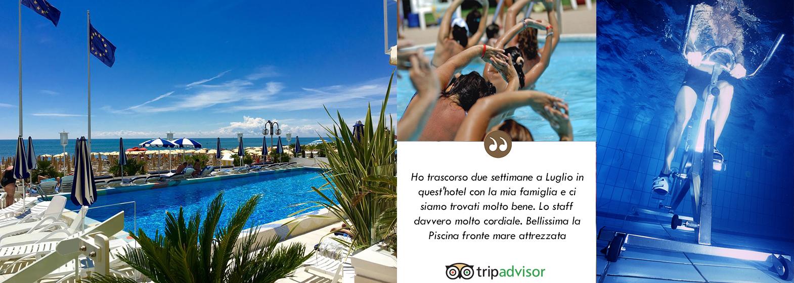 Hotel 4 stelle jesolo anthony fronte mare con piscina - Hotel jesolo con piscina fronte mare ...